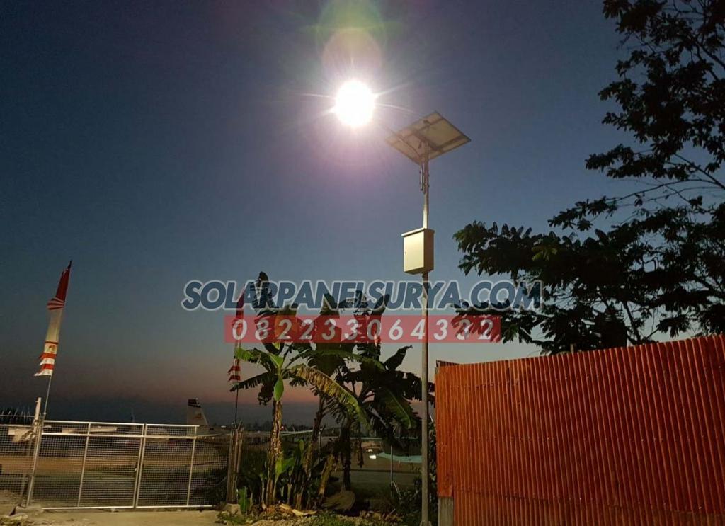 harga paket pju solarcell 20 watt