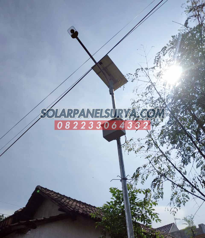 harga paket pju solarcell 40 watt