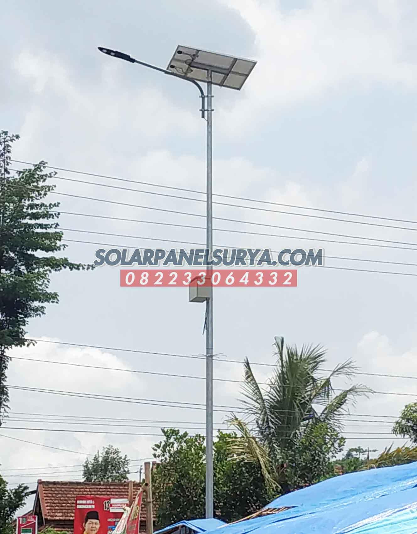 harga paket pju solarcell 80 watt