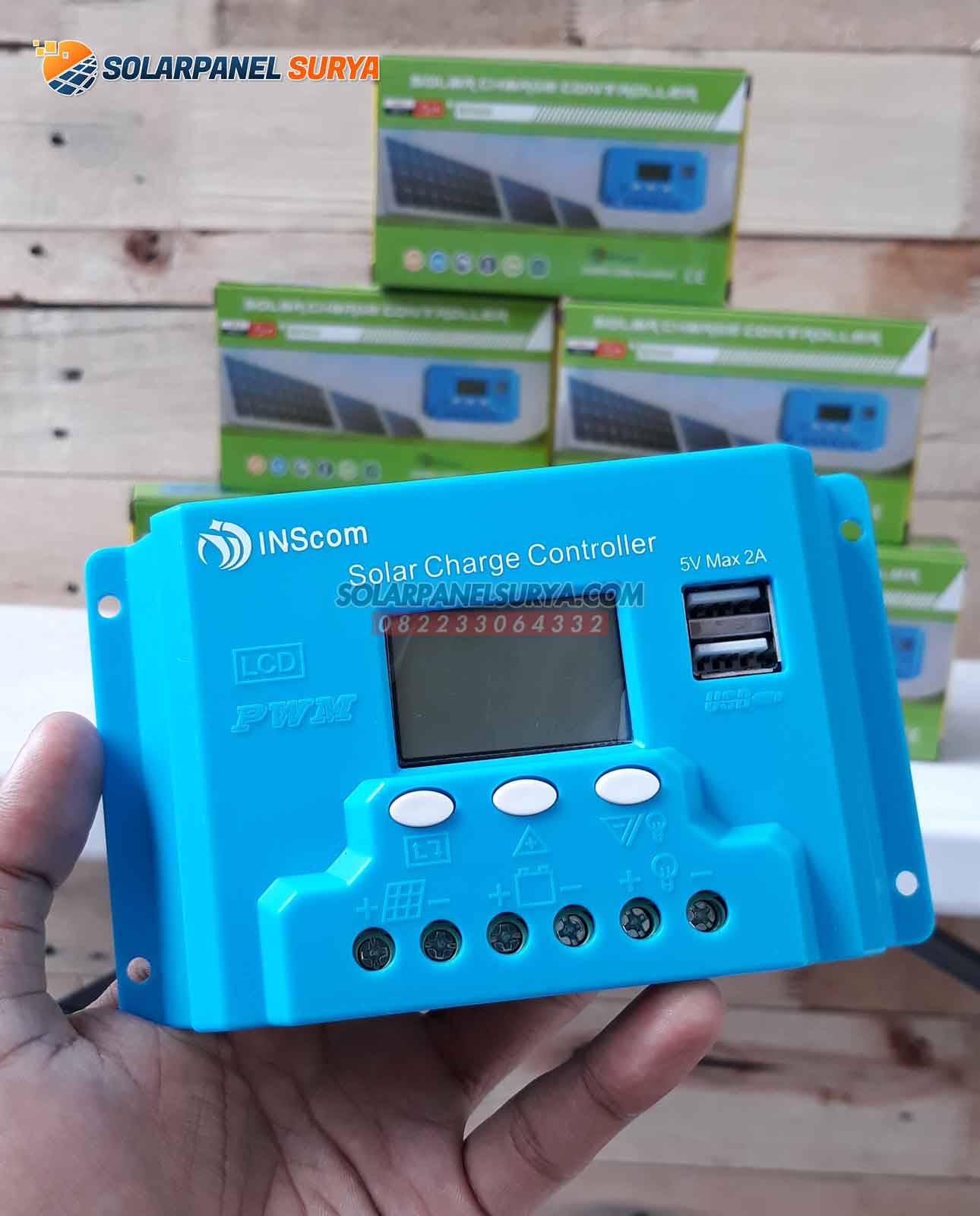 PWM Solar Charge Controller 20A