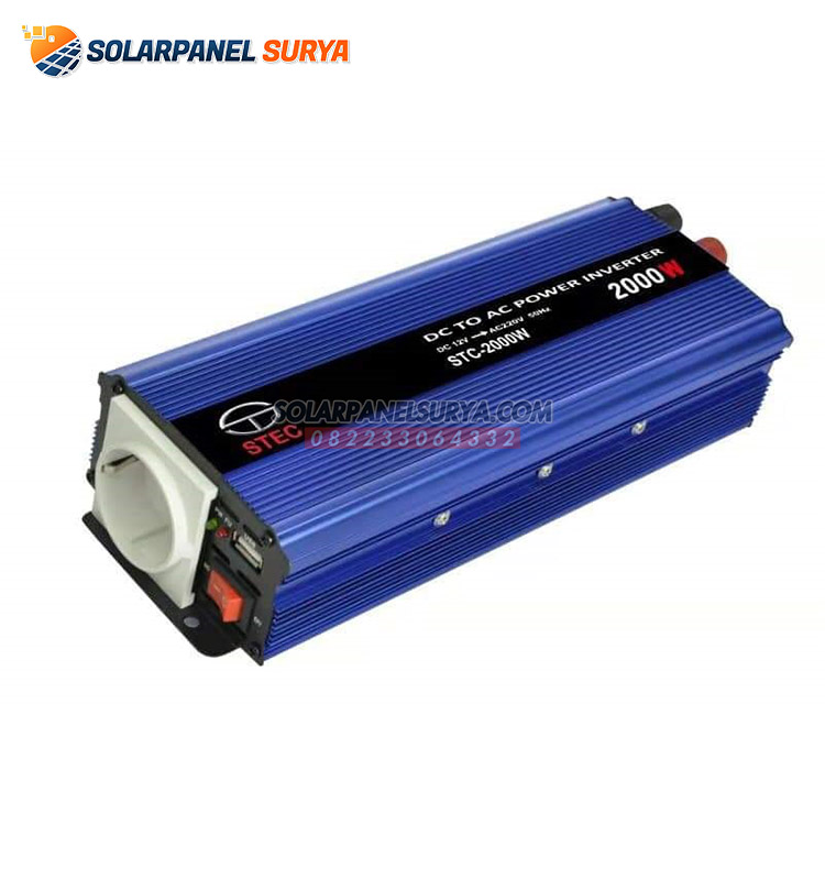 inverter listrik dc to ac 2000 watt stec