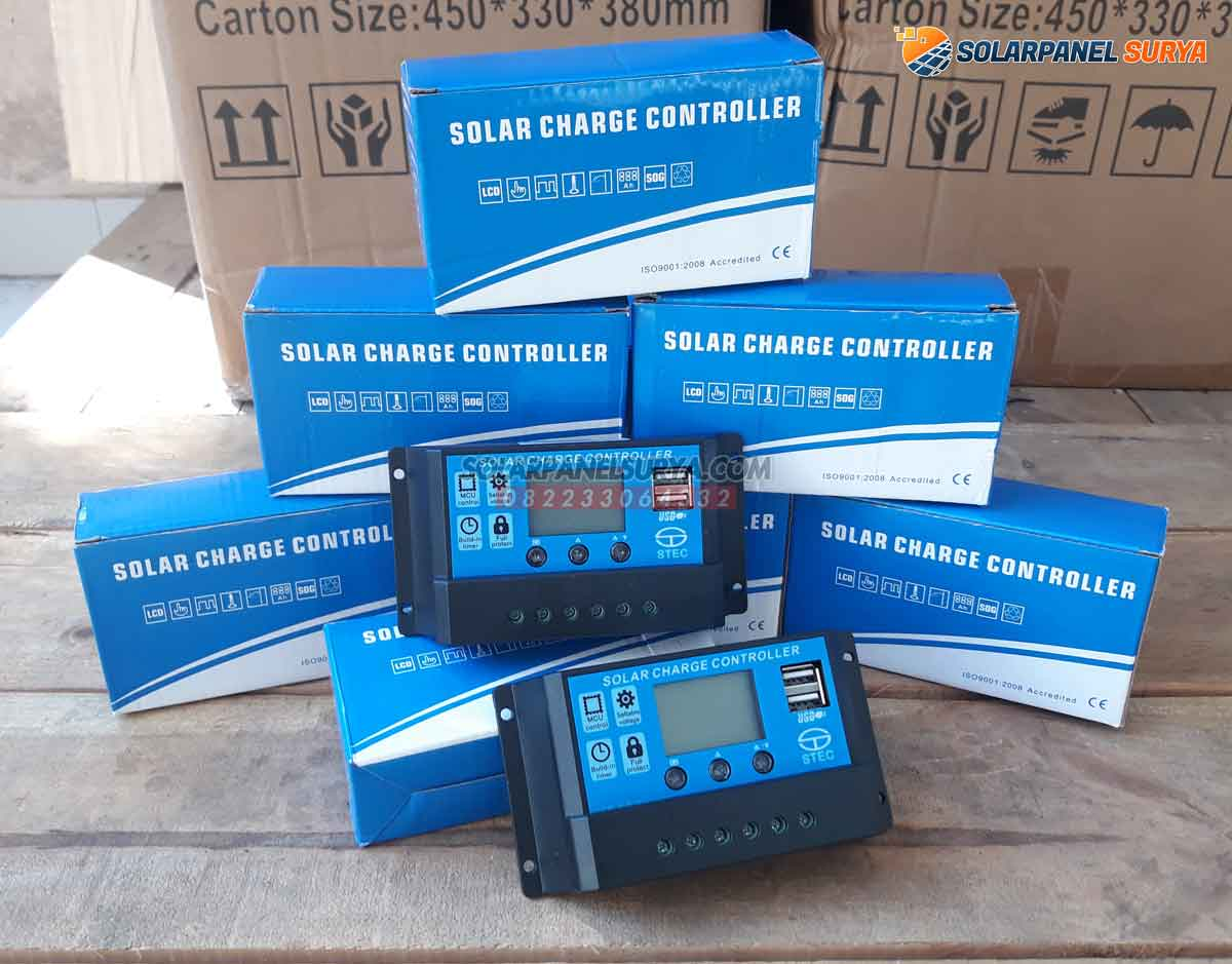 jual pwm solar charge controller 10A
