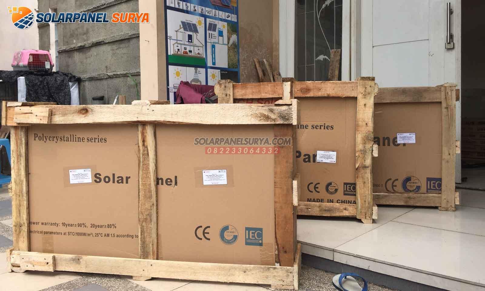 jual solar home system 400 wp shs tenaga surya