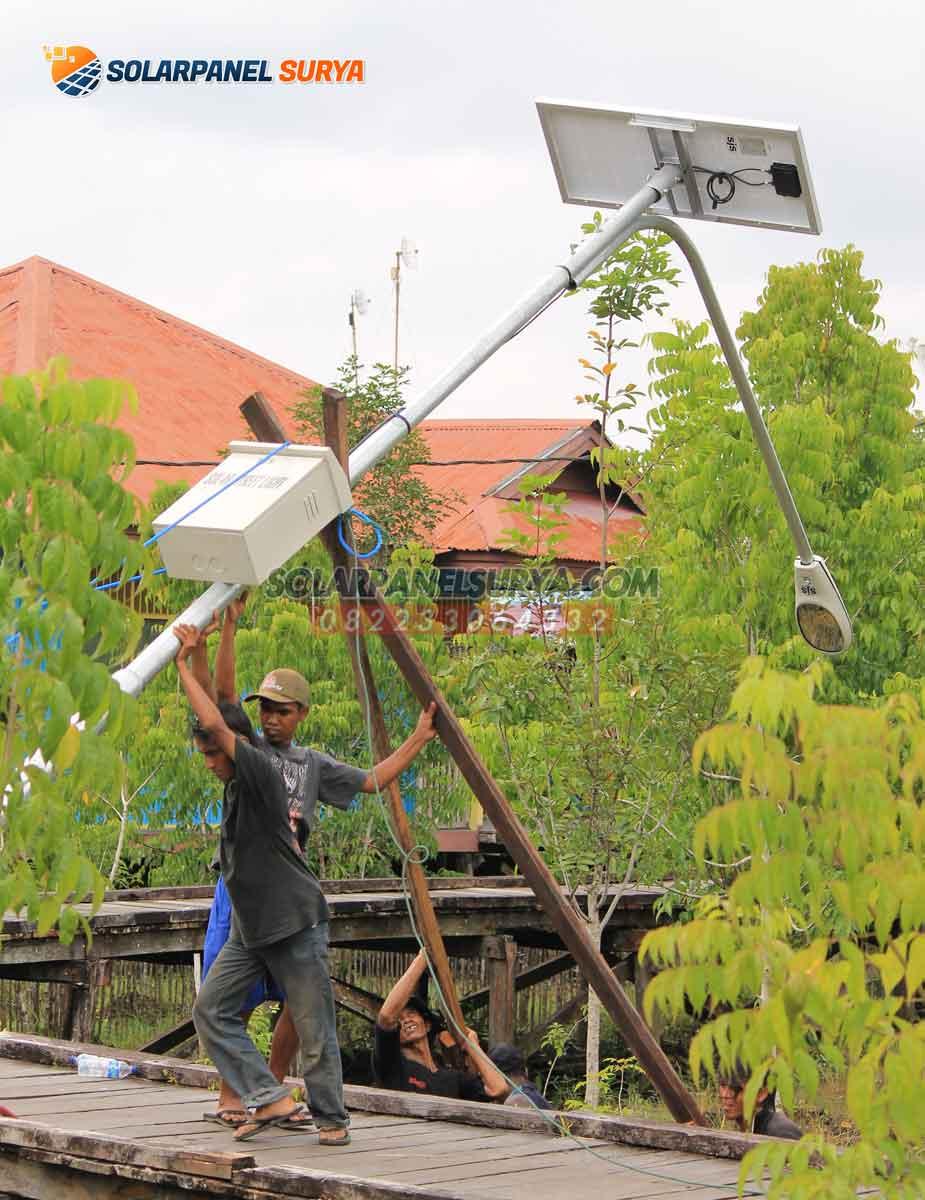 harga lampu pju tenaga surya sorong