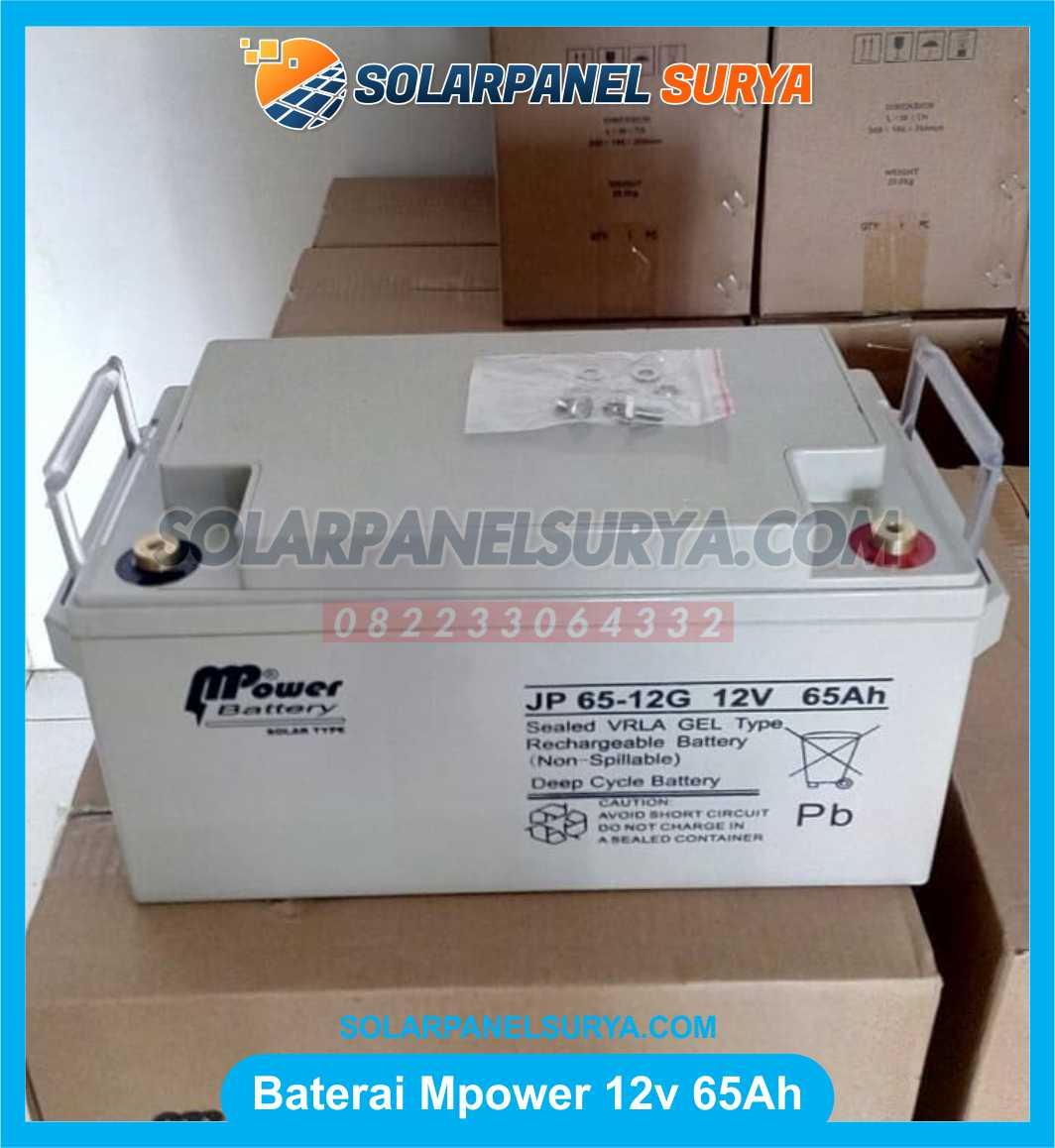 Baterai VRLA Mpower 12v 65Ah