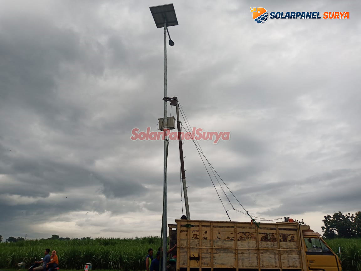 Harga Paket PJU Solar Cell di kendari sulawesi tenggara
