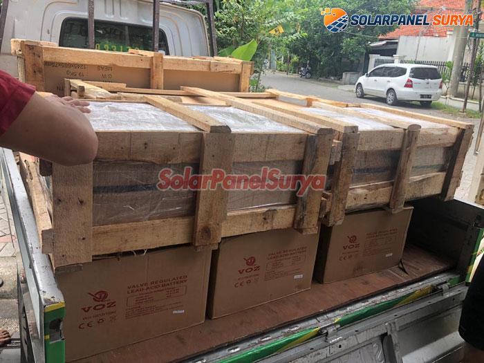 distributor lampu jalan pju tenaga surya makassar sulawesi selatan