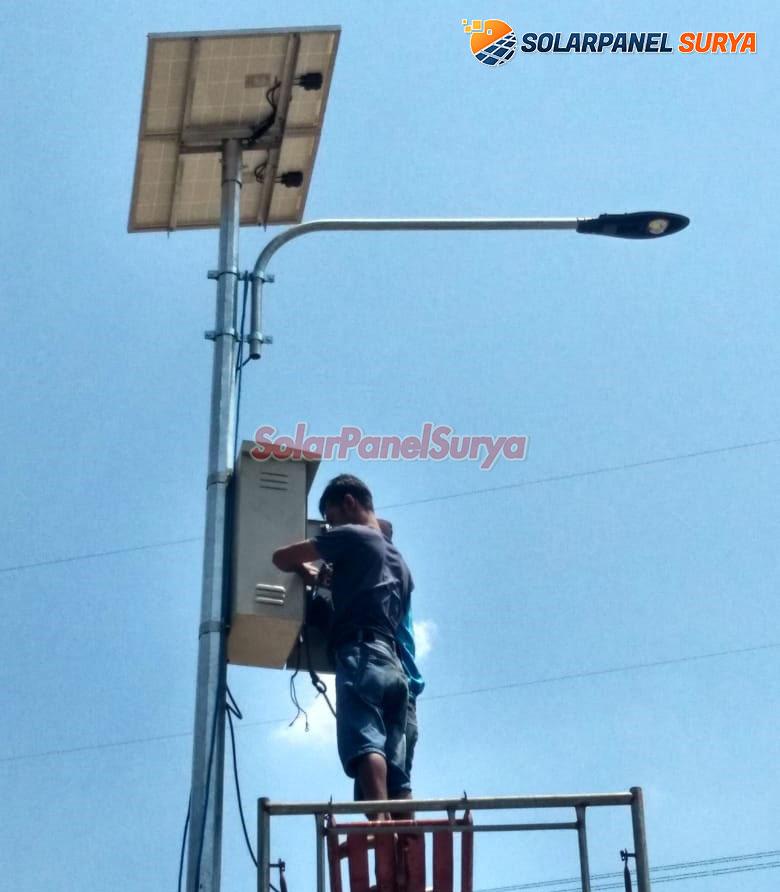 lampu jalan tenaga surya gorontalo
