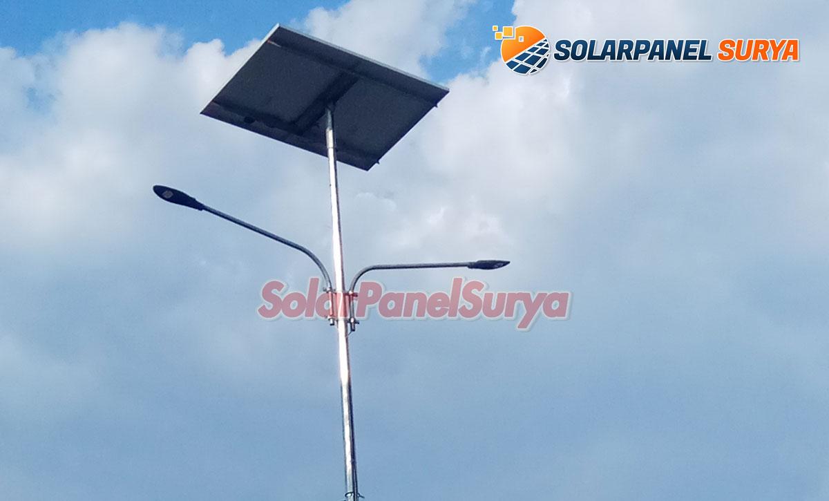 paket pju tenaga surya kendari sulawesi tenggara satu set