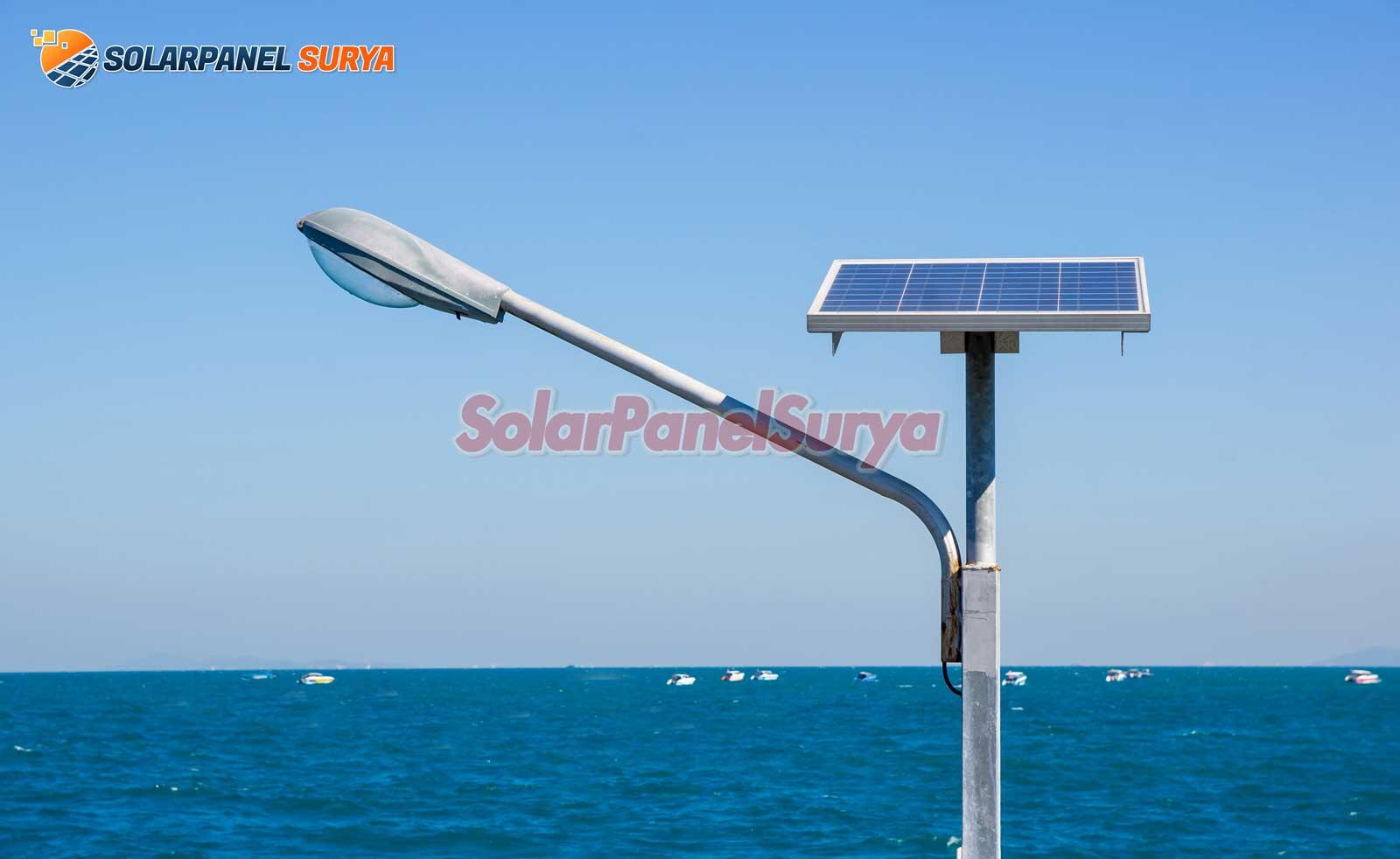 paket pju tenaga surya kupang nusa tengga timur satu set