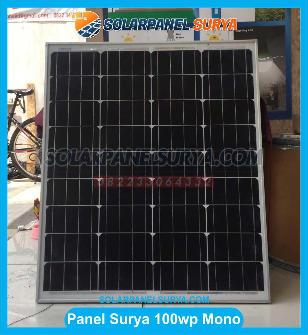 Jual Solar Panel 100 WP Monocrystalline