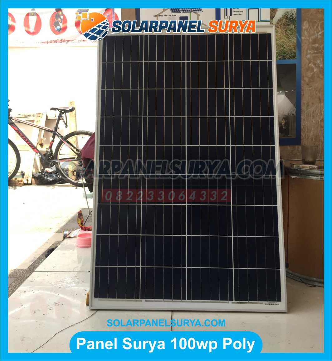 Jual Solar Panel 100 WP Polycrystalline