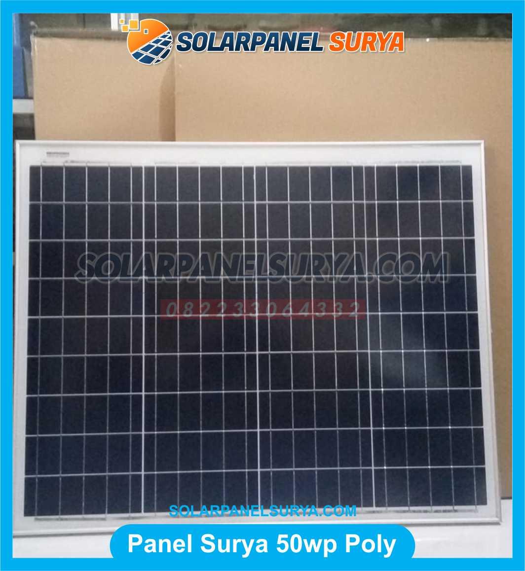 Jual Solar Panel 50 WP Polycrystalline