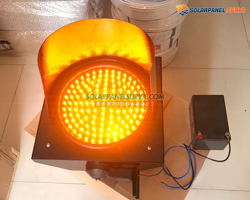 Lampu Hati Hati Warning Light 1 Aspek 20 cm