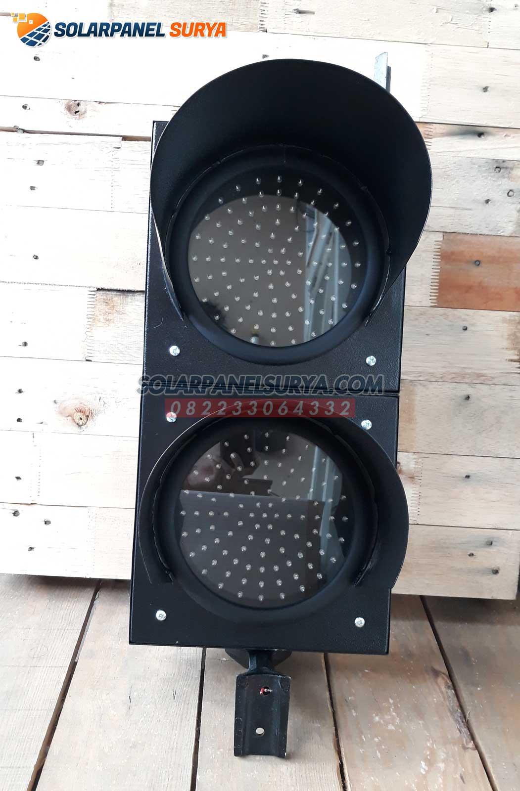 Lampu Hati Hati Warning Light 2 Aspek 20 cm