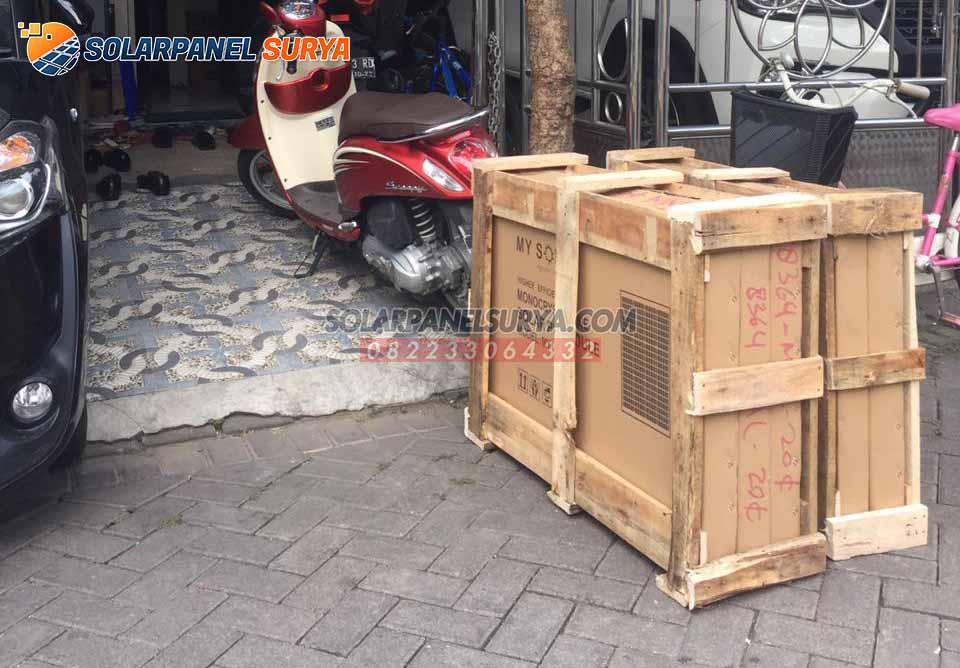 harga Panel Surya 100 WP Monocrystalline murah bergaransi
