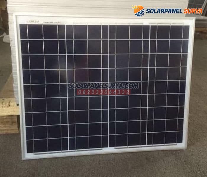 harga Panel Surya 50 WP Polycrystalline murah bergaransi