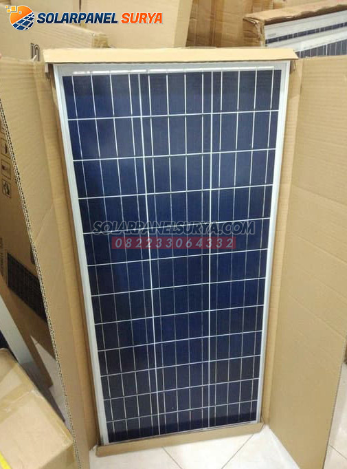 harga Panel Surya 80 WP Polycrystalline murah bergaransi