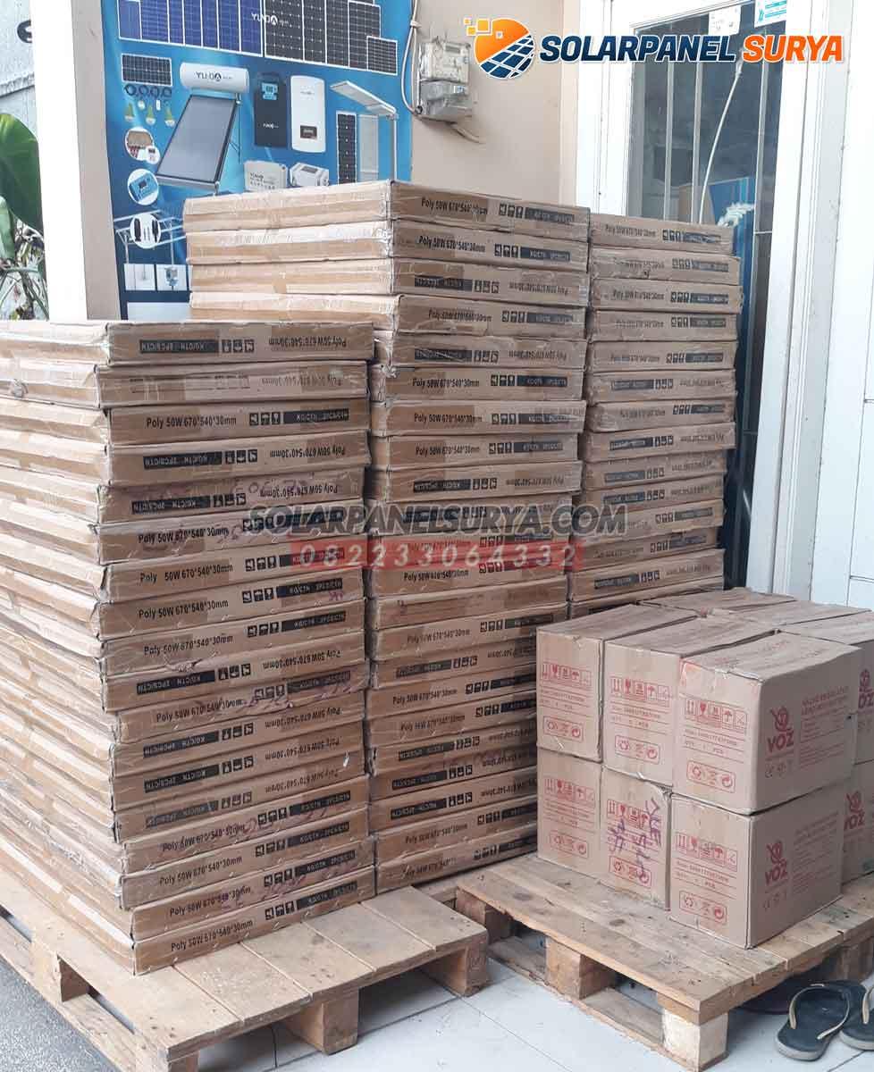 harga solar panel solar cell 50 wp polycrystalline