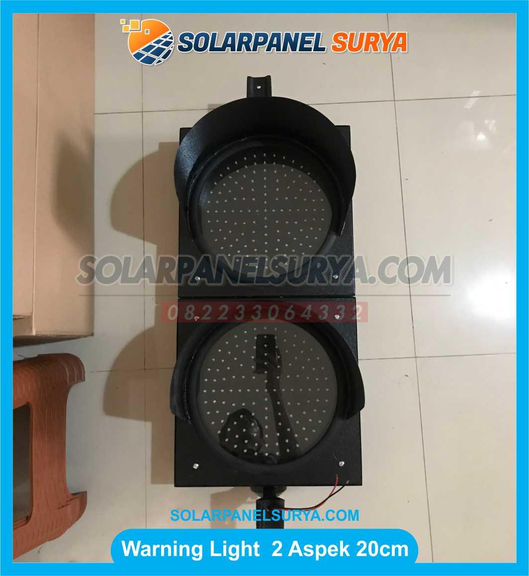 jual Lampu LED Warning Light 2 Aspek 20cm