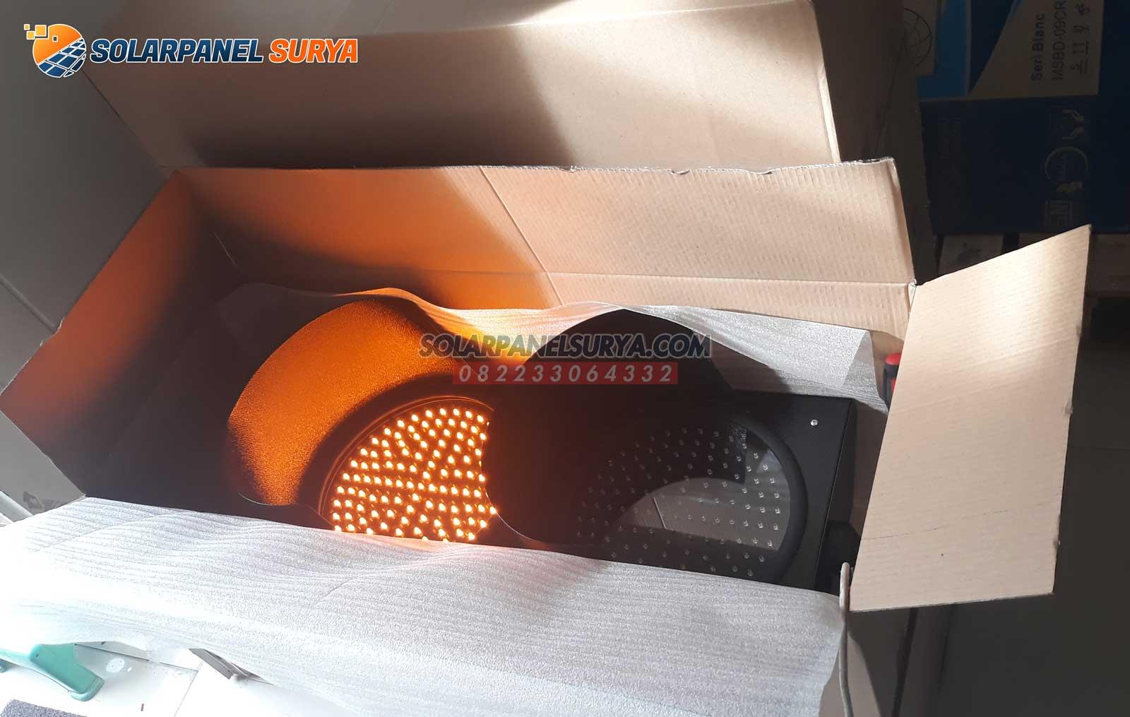 lampu peringatan warning light led 2 aspek 20 cm