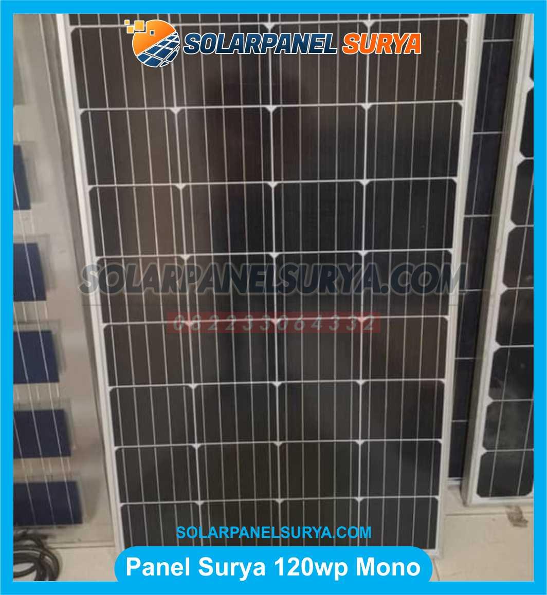 Jual Solar Panel 120 WP Monocrystalline