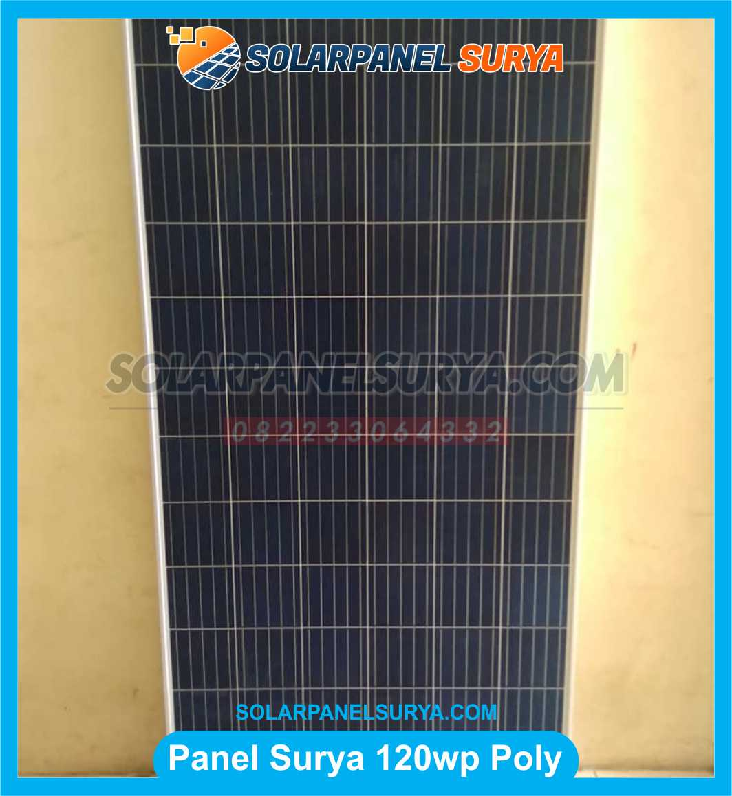 Jual Solar Panel 120 WP Polycrystalline