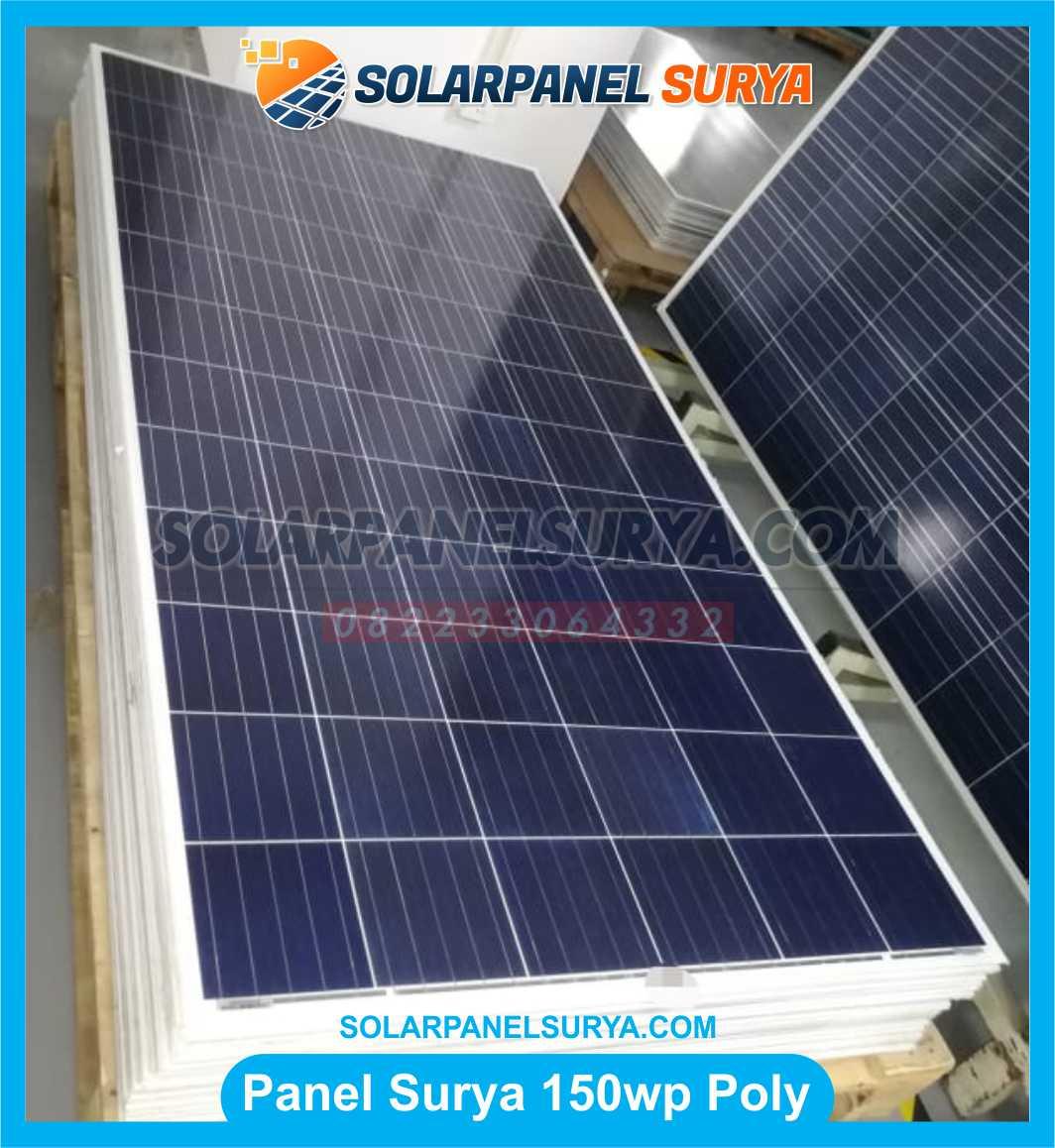 Jual Solar Panel 150 WP Polycrystalline