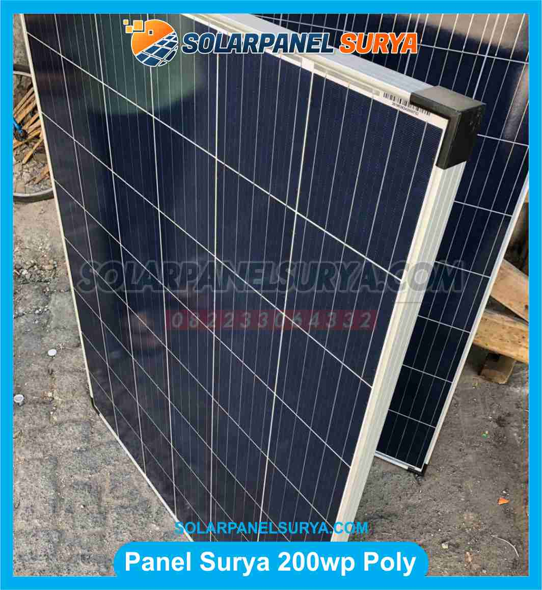 Jual Solar Panel 200 WP Polycrystalline