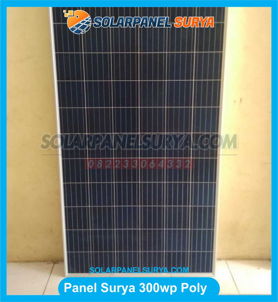 Jual Solar Panel 300 WP Polycrystalline