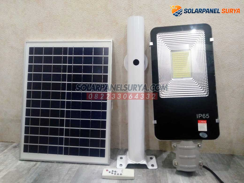 Lampu Jalan PJU Solarcell 2 in 1 100 Watt