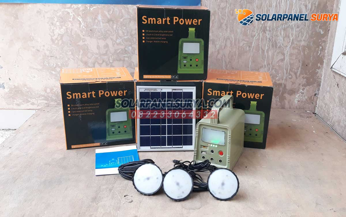 Lampu Sehen Solarkit 5wp solar home system