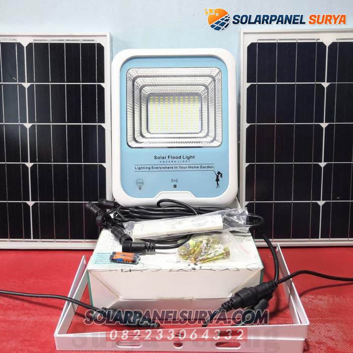 Jual Lampu Taman Solar Cell Sorot 150 Watt Lampu Sorot Led Tenaga Surya 150w Solar Panel Surya