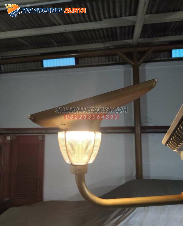 Jual Lampu Taman Tenaga Surya Lotus Light 7 Watt Solar Cell Solar Panel Surya
