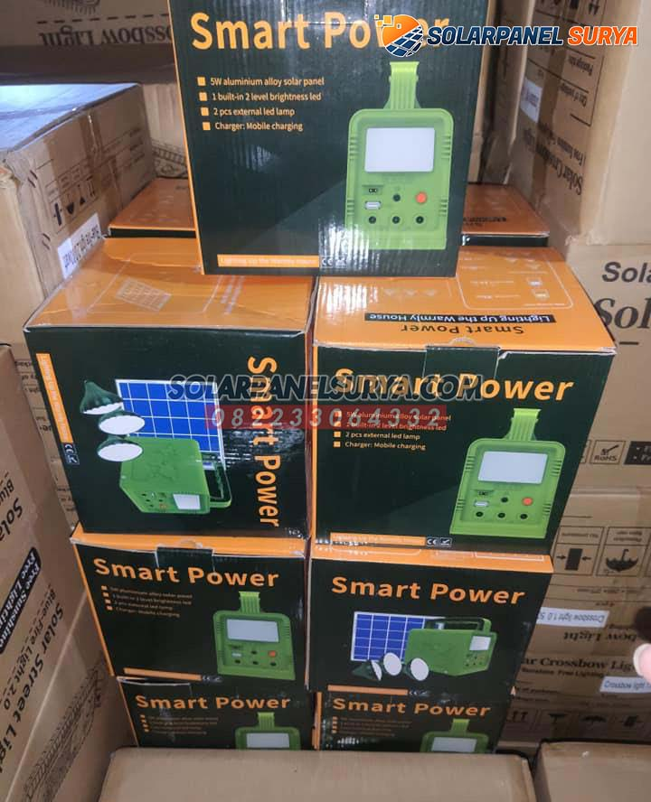 distributor Lampu SHS Solar Home System 5wp
