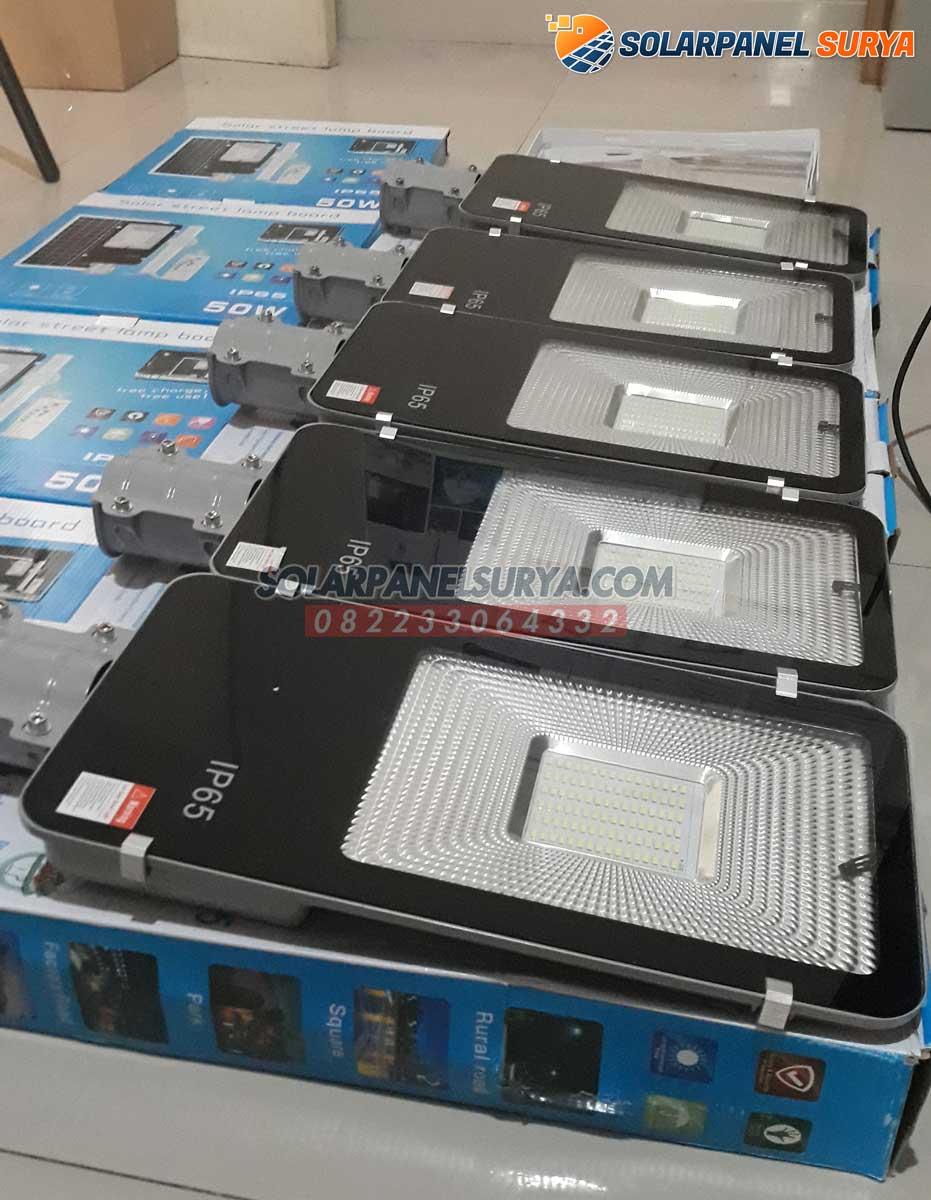 distributor lampu jalan tenaga surya 2 in 1 100 watt