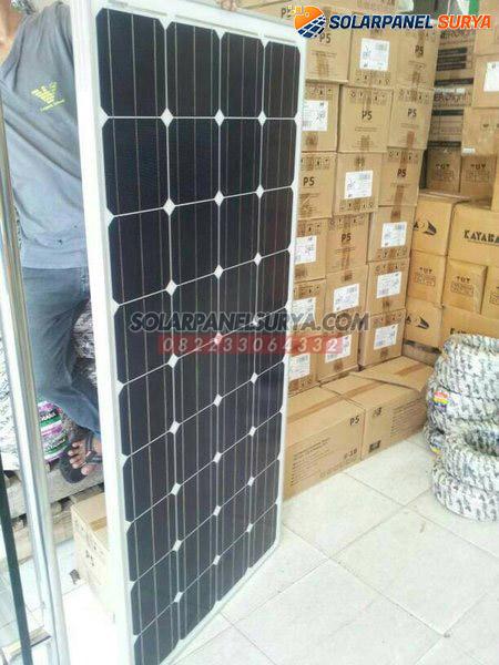 harga Panel Surya 150 WP Monocrystalline murah bergaransi