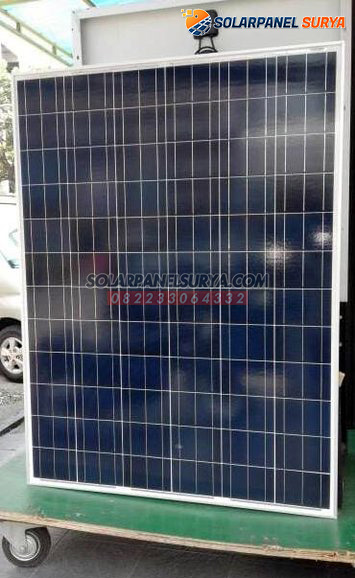 harga Panel Surya 200 WP Polycrystalline murah bergaransi
