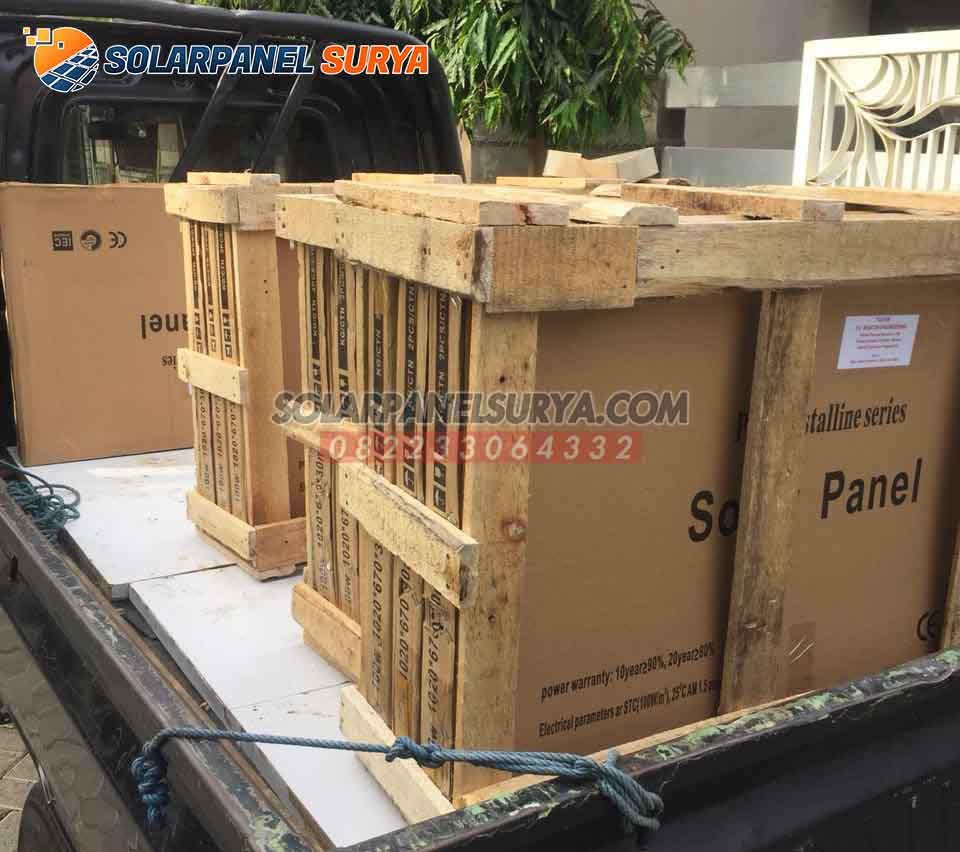 harga solar panel solar cell 120 wp monocrystalline
