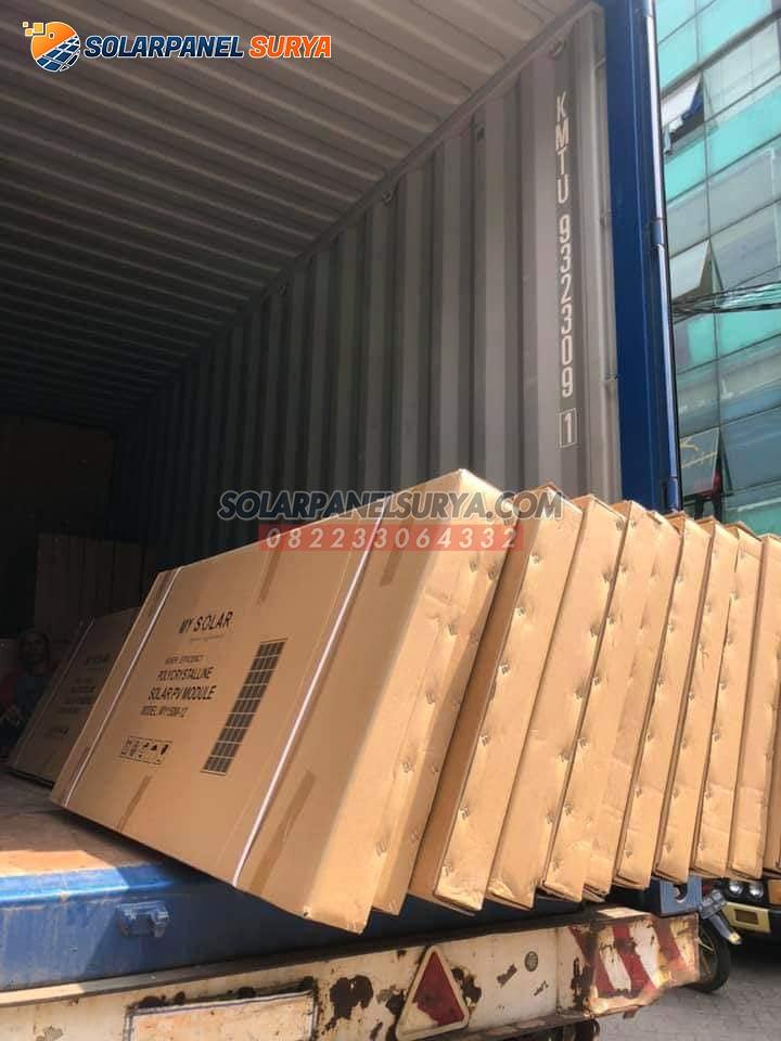 harga solar panel solar cell 120 wp polycrystalline