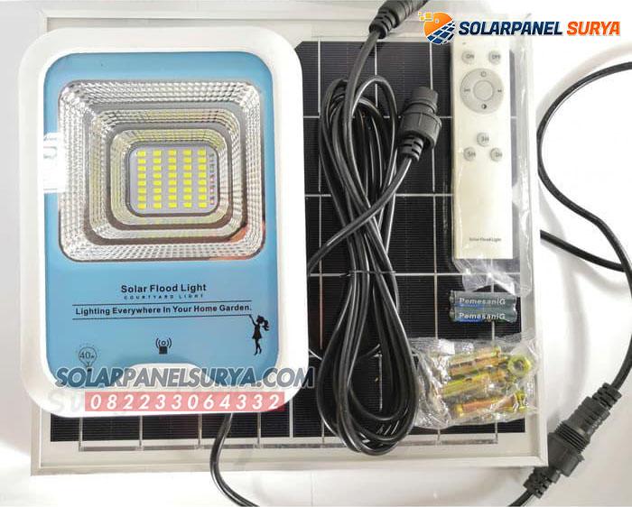jual Lampu Sorot Taman Solar Cell 40 Watt