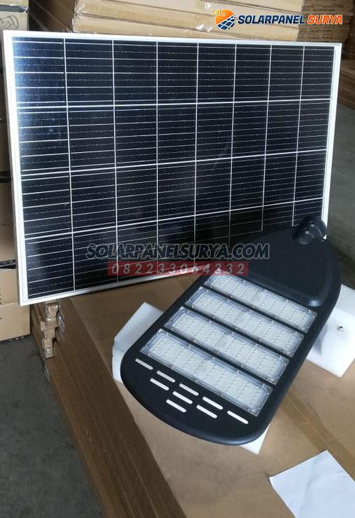 lampu jalan tenaga surya 2 in 1 60 watt