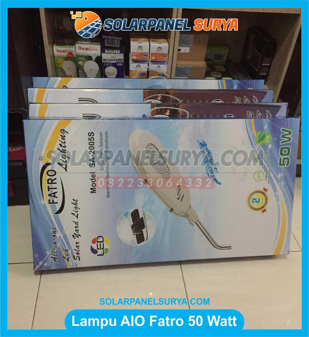 jual Lampu Jalan Fatro Solarcell 50W