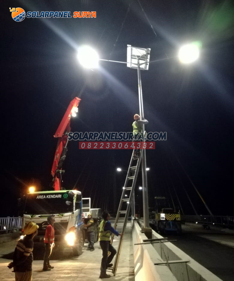 distributor lampu jalan two in one kendari