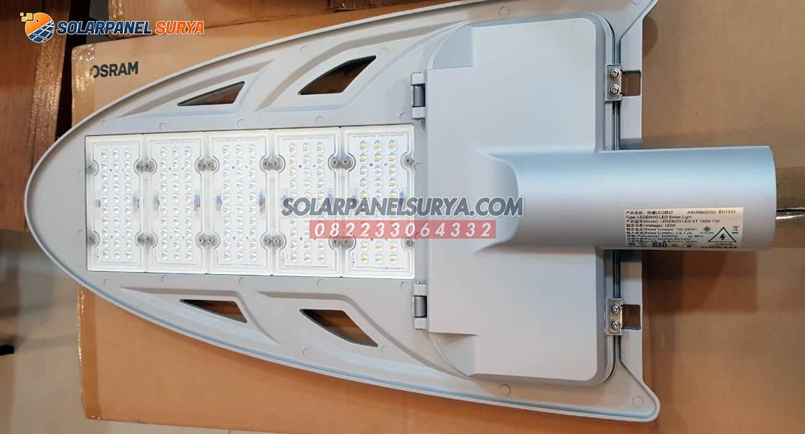 jual Lampu Jalan PJU LED Osram Ledenvo 120 Watt AC