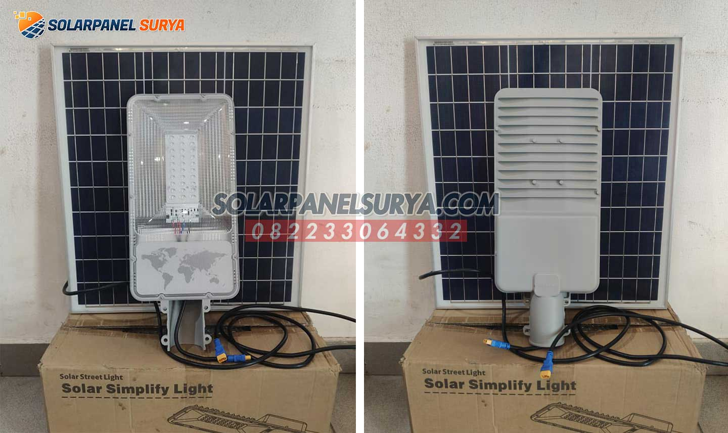 jual PJU Solar Cell 2 in 1 20 Watt Simplify Light murah bergaransi