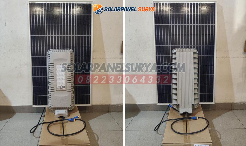 jual Lampu Jalan Tenaga Surya 2 in 1 60 Watt Blue Fire murah bergaransi