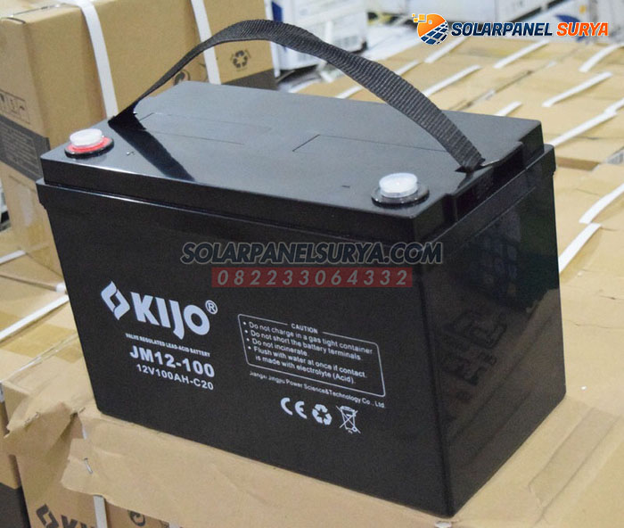 distributor Baterai VRLA Kijo 12v 100Ah deep cycle