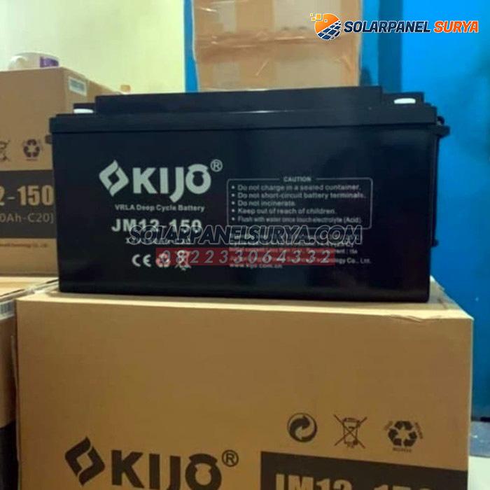 distributor Baterai VRLA Kijo 12v 150Ah deep cycle