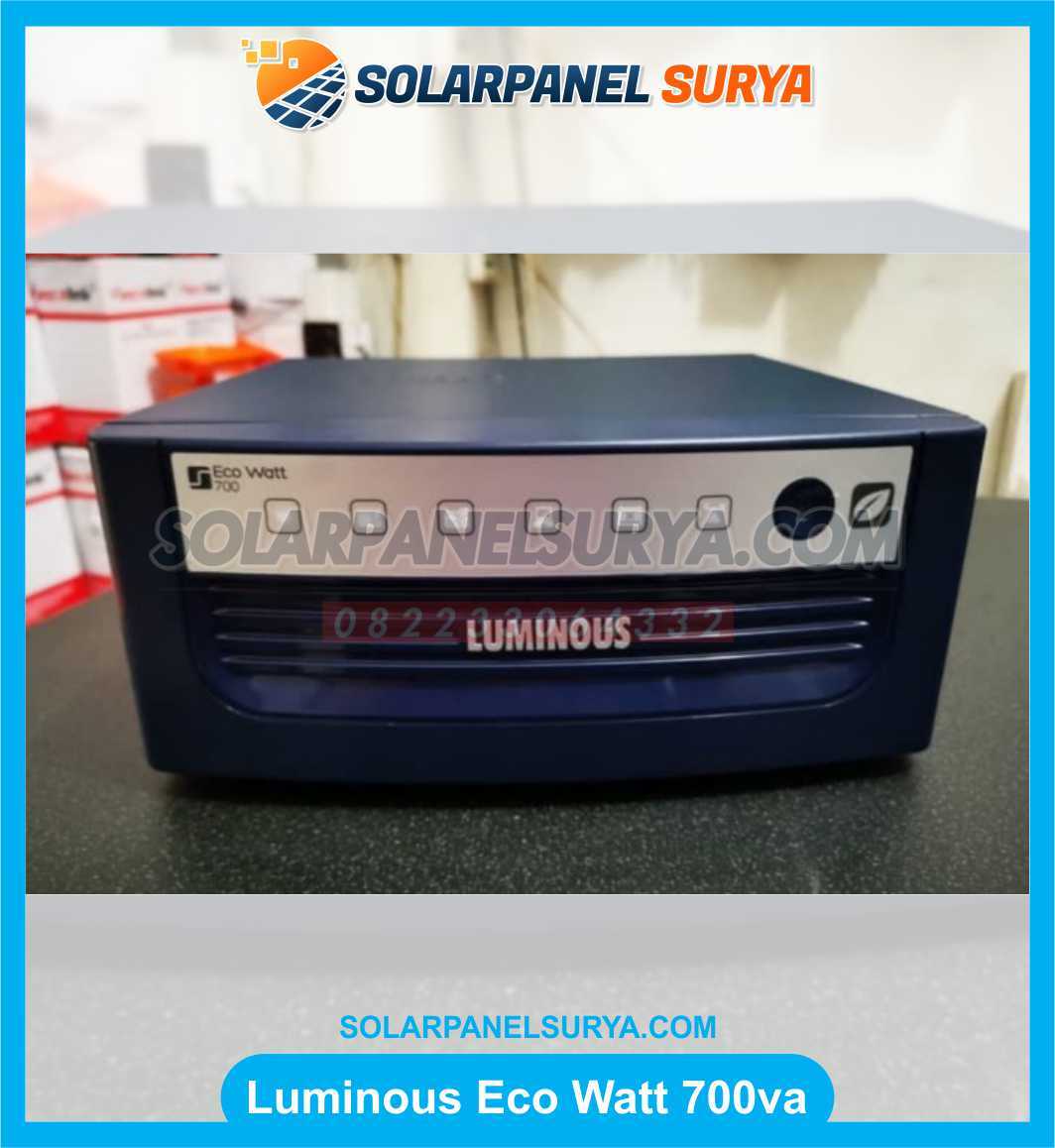jual Inverter Square Wave Luminous Eco Watt 700va